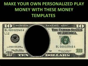 Play money personalized templates 1226033383010111 9