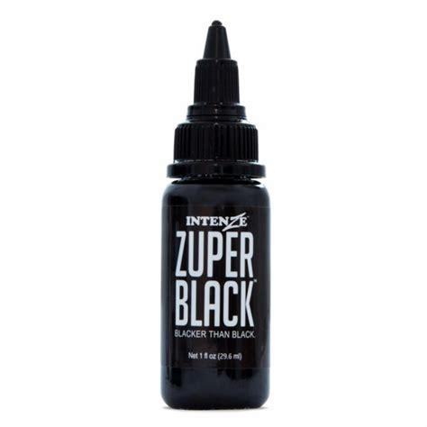 tattoo ink zuper black intenze ink zuper black