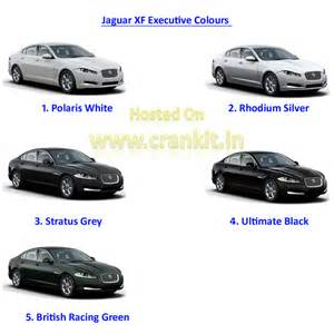 Jaguar Xf Colours Jlr Intensifies The Luxury Car Race With Jaguar Xf Executive
