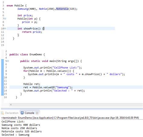 tutorial java enum selenium webdriver with java enum in java exle