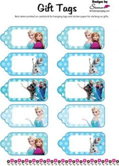 olaf printable gift tags frozen tags on pinterest frozen birthday party games