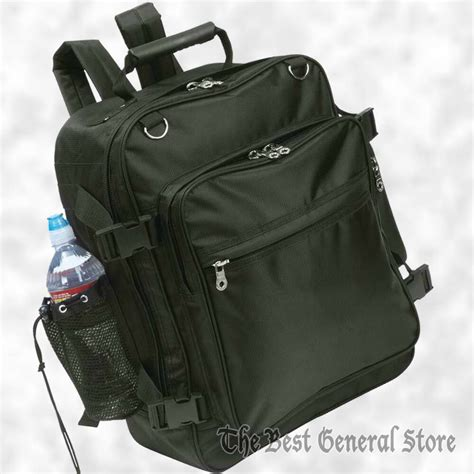 water resistant motorcycle trunk sissy bar bag black backpack mesh bottle pocket ebay