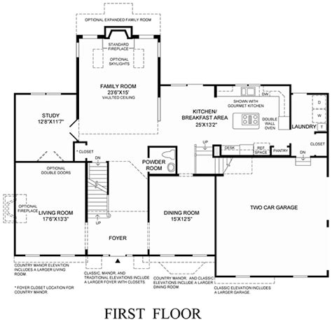preston floor plan pennsylvania luxury new homes for sale by toll brothers