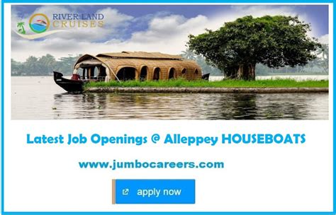 houseboat jobs latest job vacancies in alleppey houseboats 2018