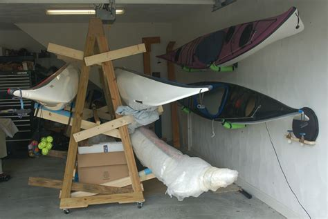 Garage Storage Racks For Kayaks Storage Rack Plans For 6 Kayaks Needed Message Boards