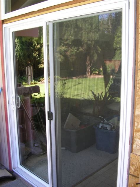 2 dual pane high efficiency sliding glass doors in davis