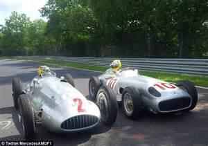 classic mercedes race cars german grand prix lewis hamilton and nico rosberg race