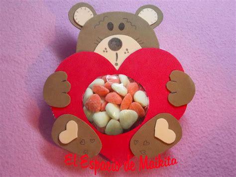 imagenes de amor y amistad en fomy el espacio de maikita osito de dulces con fomix