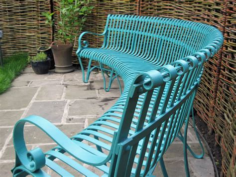 curved metal garden bench curved garden benches wooden landscaping gardening ideas