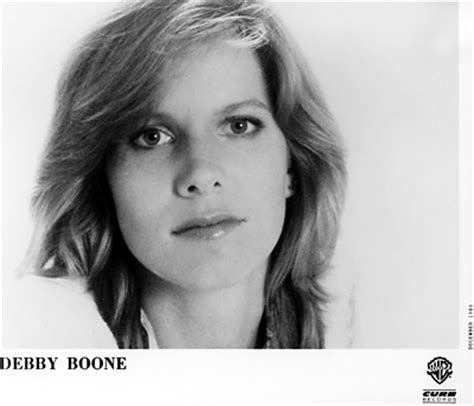 debby boone promo print, 1980 at wolfgang's