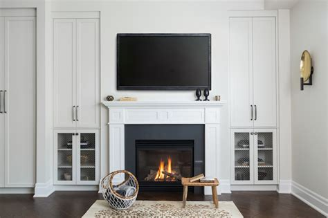 Built In Cabinets Around Fireplace by Wall Units Extraordinary Fireplace Built In Cabinets