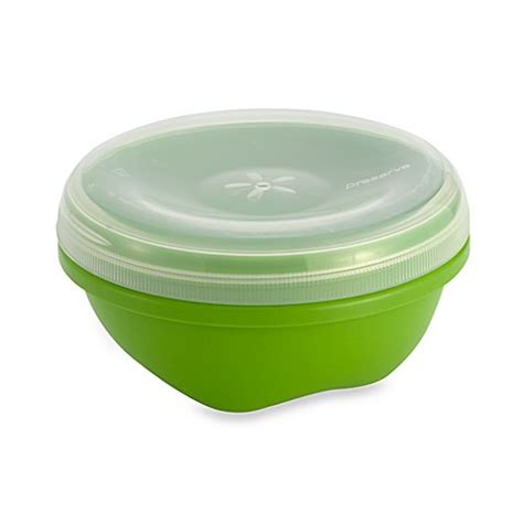 bed bath and beyond containers buy preserve 174 19 ounce food storage container with lid