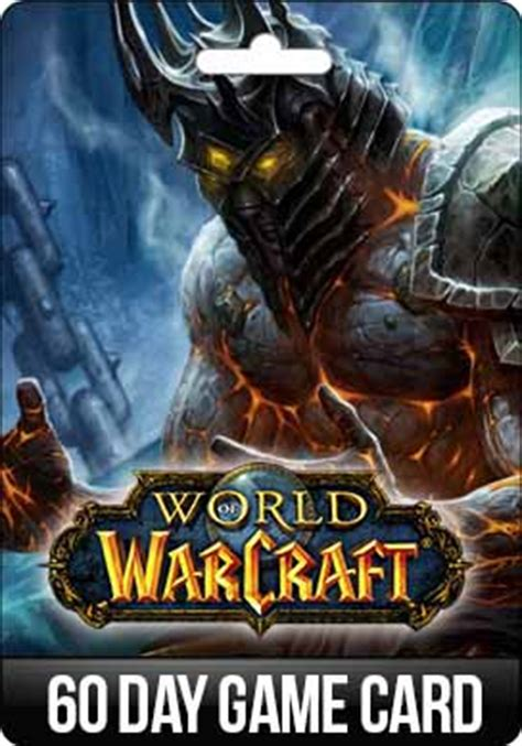 Wow Gift Cards - buy world of warcraft wow eu time card 60 days gift and download
