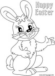 cute easter bunny colouring 2016 coloring pages printable