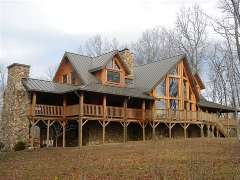 log homes with wrap around porches log home with prowl front and wrap around porch house