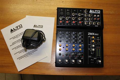 Mixer Alto Zmx alto professional zmx862 image 744024 audiofanzine