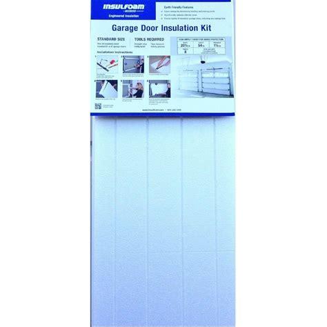 insulfoam garage door insulation kit insulfoam garage door insulation kit 320737 the home depot