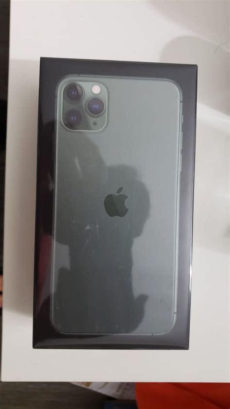 iphone  pro max  gb midnight green  box unlocked