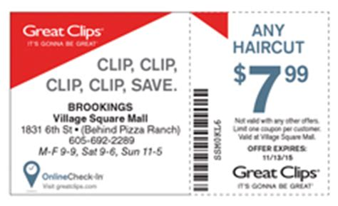 great clips brookings