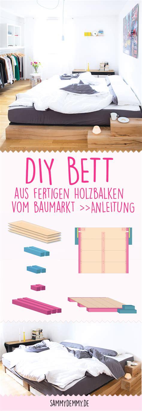 Bett Basteln Anleitung by Diy Bett Anleitung Zum Selber Bauen Eines Massiv Holz Bettes