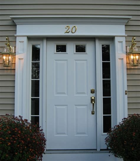 Front Door Surround H R Home Remodeling Inc Windows And Doors Serving Western Ma