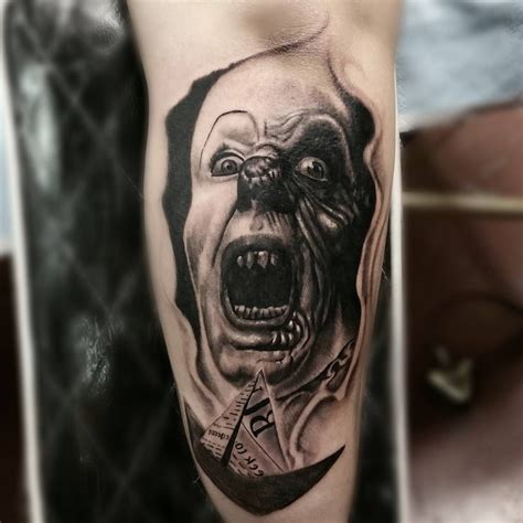 tattoo the movie quot they all float here quot got to add pennywise with a