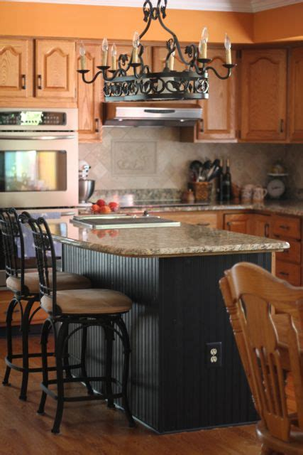 Beadboard Kitchen Island Our Life In A Click Updating The Abode Bead Board