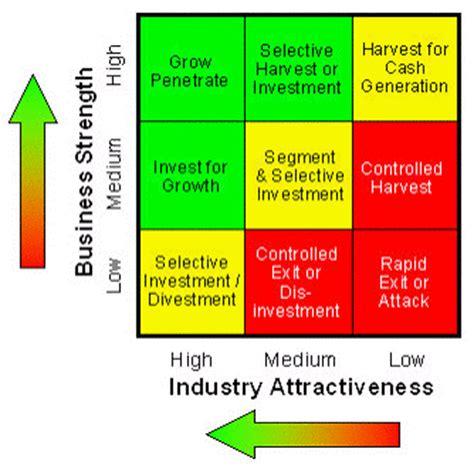 9 cell matrix template ge multi factor portfolio matrix business frameworks