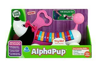 Leapfrog Alphapup Pink leapfrog prima toys