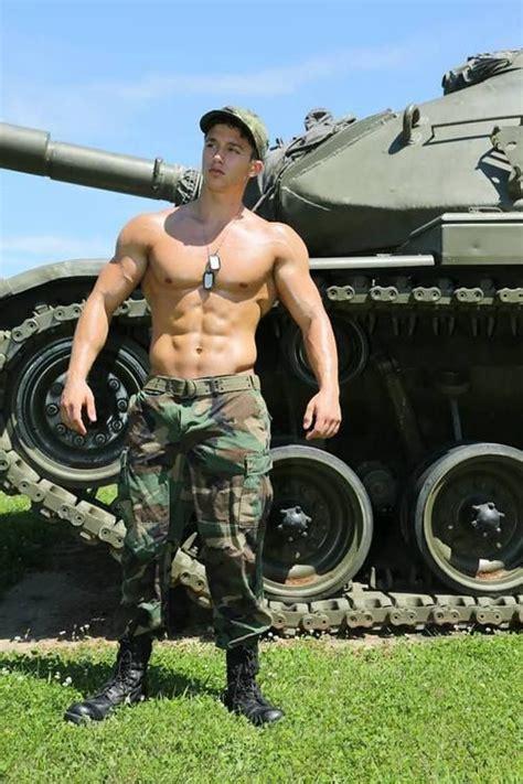 Best looking military men