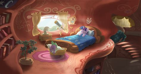 twilight sparkle bedroom twilight sleeping by stinkehund on deviantart