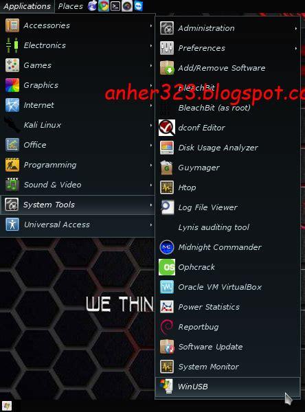 membuat virus di kali linux membuat bootable windows di kali linux dengan winusb