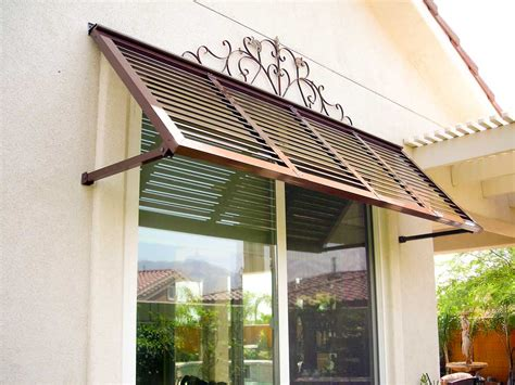 outdoor window awnings and canopies exterior windows metal awning and window on pinterest