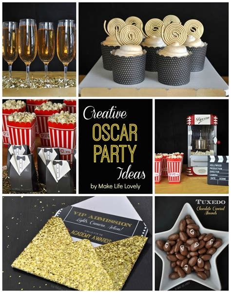 Home Decorating Sweepstakes by Creative Oscars Party Ideas Film Reel Cupcakes Make