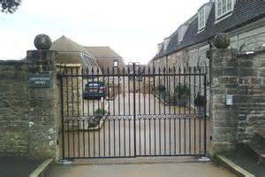 Wrought iron gates railings wrought gate warwickshire iron