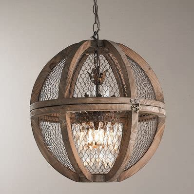 Large Wooden Orb Chandelier Rustic Wooden Wrought Iron Chandeliers Shades Of Light