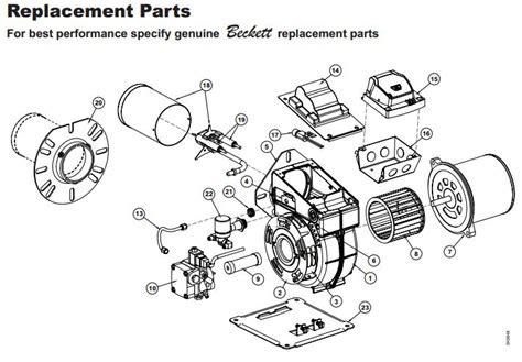beckett burner model sdc 24v