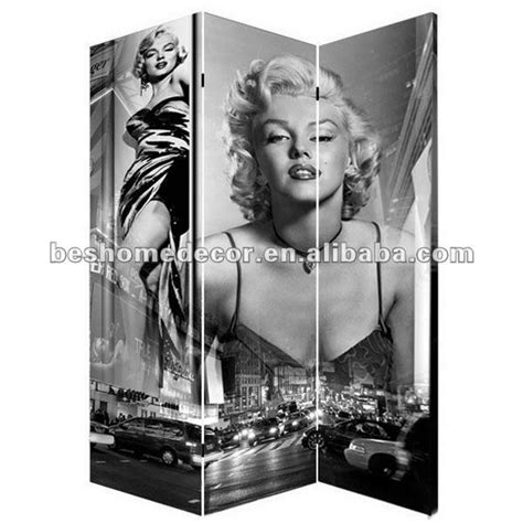 marilyn room divider folding room divider canvas screen marilyn furniture furniture r00m ideas