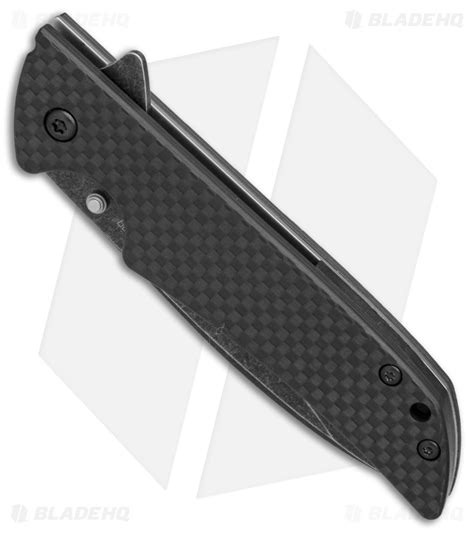 kershaw skyline blackwash kershaw skyline knife flytanium carbon fiber scales