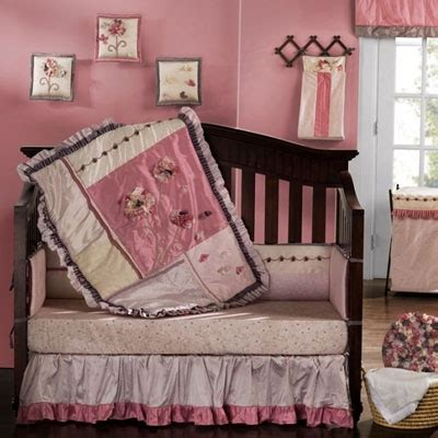 Pin By Ruby Cooper On Baby Shower Pink Pinterest Fleur Crib Bedding