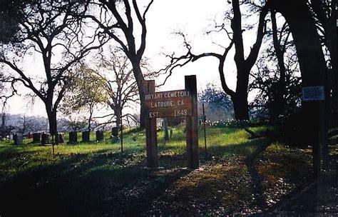 El Dorado County Records Bryant Cemetery El Dorado County California