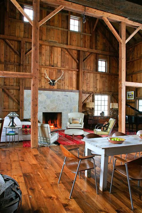 barn home interiors modern michigan barn house conversion with rustic