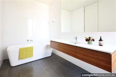 Timber Vanity Units by Grand Designs Australia Richmond Inner City House
