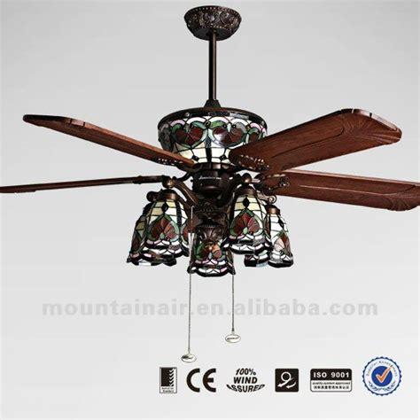 tiffany ceiling fan lights warisan lighting