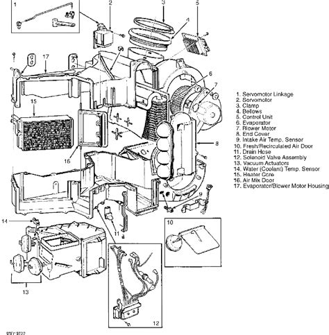 free service manuals online 1994 volvo 960 engine control volvo 960 climate control heater system repair manual