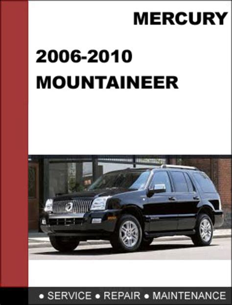 car repair manuals download 2009 mercury mountaineer lane departure warning mercury mountaineer 2006 to 2010 factory workshop service repair ma