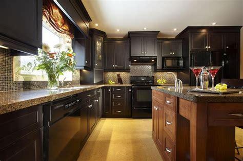 18 Kitchen Designs Incorporating Dark RTA Cabinets