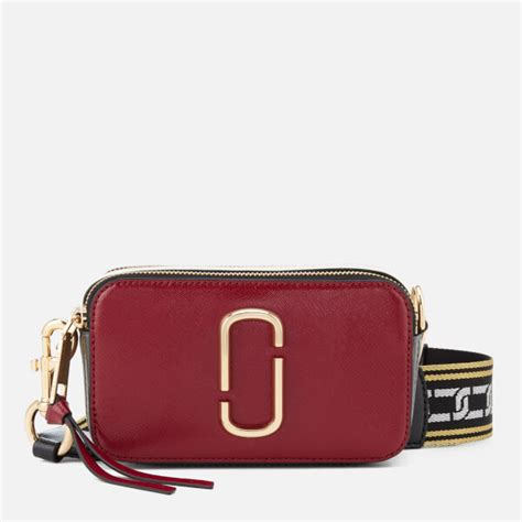 Marc Snapshop Bag Doubel Material Taiga marc s snapshot cross bag maroon free uk delivery 163 50