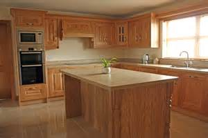 Small Kitchen Countertops - character oak kitchen fitted in ardee ireland