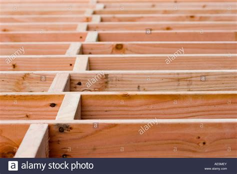 Distance Between Floors In A Building - wood blocking in a staggered pattern between floor joists